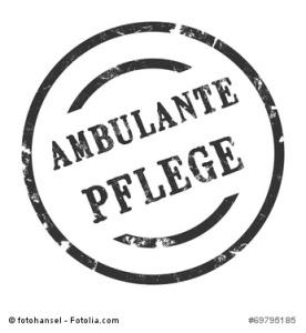 sk165 - StempelGrafik Rund - Ambulante Pflege - g1595